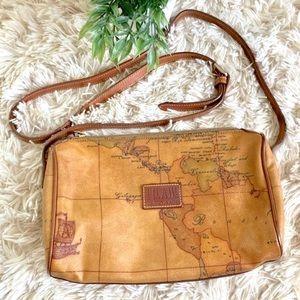 Alviero Martini Atlas Crossbody Bag